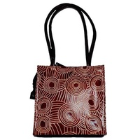 Iwantja Leather (Tote) Handbag - Chocolate
