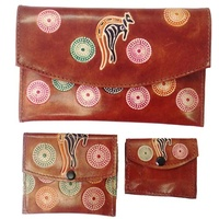 Baribunma Leather Purse Set (3pce) - Kangaroo