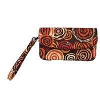 Jijaka Aboriginal Art Purse/Wallet - Rivertones