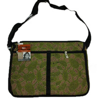 Yijan Satchel Deluxe Bag - Women Travel Dreaming (Green)