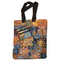 Jijaka 2pce Canvas Bag Set - Spinifex