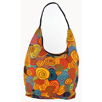 Jijaka Aboriginal Dot Art Shoulder Bag - Firestones