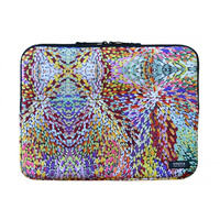 Utopia Aboriginal Art Neoprene Laptop Sleeve - Firesparks