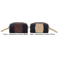 Warrina Toiletry/Cosmetic Travel Bag - Dreamtime Flowers