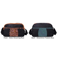 Travel/Toiletry Bag (Body Cross) - Water Dreaming