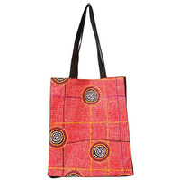 Warlukurlangu Cotton Tote Bag - Bush Potato Dreaming