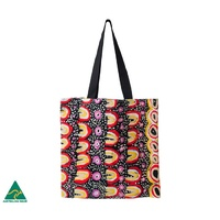 Yarliyil Aboriginal Art Cotton Tote Bag - Sand Dunes