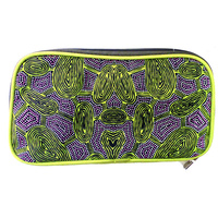 Yijan Travel Wallet - Women Travel Dreaming (Green)