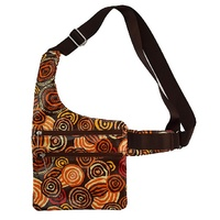 Jijaka Aboriginal Art Sling Bag - Riverstones