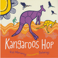 Kangaroos Hop - Aboriginal Children's Book (Soft Cover)