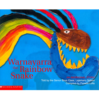 Warnayarra the Rainbow Snake (Soft Cover) - Aboriginal Children's Book