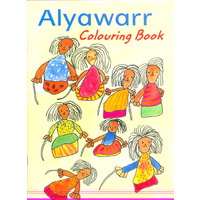 Alyawarr Colouring Book - Aboriginal Children's Book