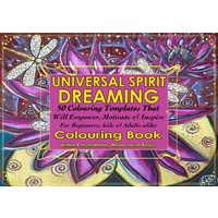 Universal Spirit Dreaming Adult Aboriginal Art Colouring Book