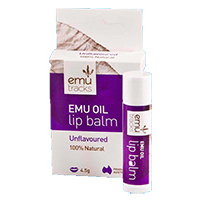 Emu Tracks Emu Oil Lip Balm - Unflavoured