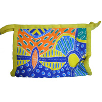 Keringke Aboriginal Art Soap Bag - Blue