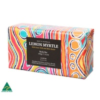 Handmade Soap - Lemon Myrtle Body Bar (200g)