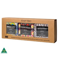 Yarliyil Aboriginal Art Giftboxed Native Soap Trio