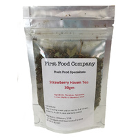 First Food Co Strawberry Haven Tea (30g) - CLR