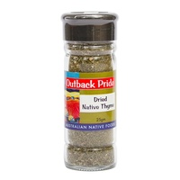 Outback Pride Native Thyme - Dried Native Herb 25g [CLR]