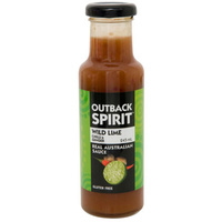 Outback Spirit Wild Lime/Chilli/Ginger Sauce 245mls - CLR