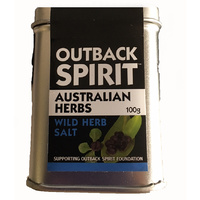 Outback Spirit Wild Herb Salt (100g) Tin [CLR]