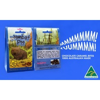 Aussie Sweet Treats - Wombat Poo (100g) - Chocolate Caramel Bites