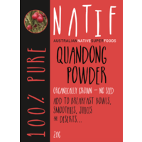 NATIF Quandong Powder (20g)