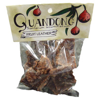 Quandong Leather (100g) - Native Fruit Strap