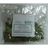 Barbushco dried Lemon Myrtle Leaves 10g