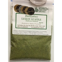 Barbushco Lemon Myrtle (ground) Native Spice - 100g