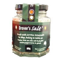 Green Farmhouse Drovers Salt 80g (JAR) - CLR