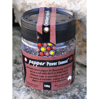 Green Farmhouse Pepper Power Lemon (Shaker) 100g - CLR