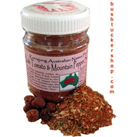 Kurrajong Bush Tomato & Mountain Pepper Seasoning 160g