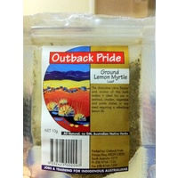 Outback Pride Lemon Myrtle (ground) Native Spice - 100g