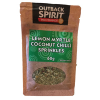 Outback Spirit Lemon Myrtle Coconut Chilli Sprinkles - 60g