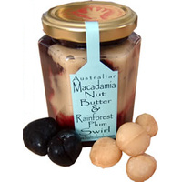 Kurrajong Macadamia Nut Butter & Rainforest Plum Swirl (130g)