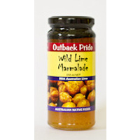 Outback Pride Wild Lime Native Fruit Marmalade (250g)