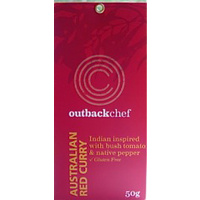 Outback Chef Australian Red Curry Rub 50g - CLR