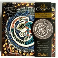 Chern'ee Sutton  Giftboxed Chocolate Disc (70g) -Ilipari the Lizard