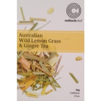 Native Loose Leaf Tea 50g - Wild Lemon Grass & Ginger