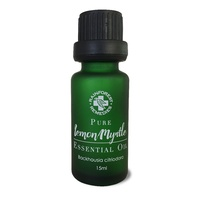 Rainforest Remedies Lemon Myrtle Pure Essential Oil 15mls