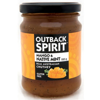 Outback Spirit Mango & Native Mint Chutney 285g
