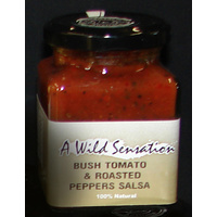 Wild Sensations Bush Tomato & Roasted Peppers Salsa 190g - CLR