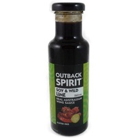 Outback Spirit Soy & Wild Lime Wing Sauce 245mls