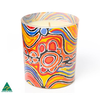 Warlukurlangu Fragranced Soy Blend Candles - Judy Watson
