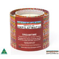 Ampilatwatja Aboriginal Art Fragranced Soy Blend Candles - Margaret Ross