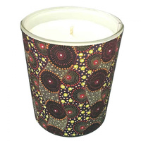 Utopia Aboriginal Art Soy Wax Candle - Rat Tail Plant