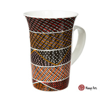 Munupi Aboriginal Arts Giftboxed China Mug - Jillamara