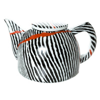 Warlukurlangu Aboriginal Art Fine Bone China Teapot - Kurrkara