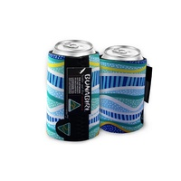 Bunabiri Aboriginal Art Can Cooler - Rainbow Reef